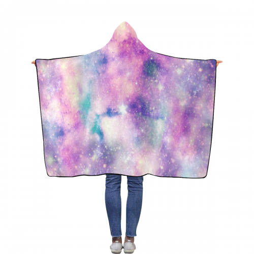 "Flannel Hooded Blanket 40""x50"""