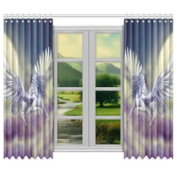 "Window Curtain 100""x84"""