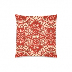 """Throw Pillow Cover 18""""x18"""" (One Side)"""