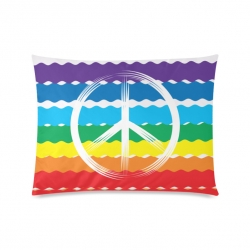 "Rectangle Pillow Case 20""x26""(One Side)"