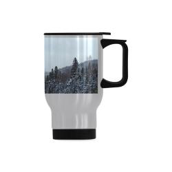 Travel Mug(Sliver) (14 Oz)