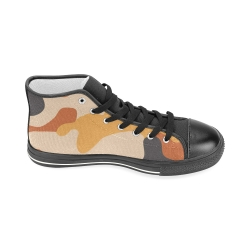 Aquila High Top Men's Canvas Shoes(Model017)