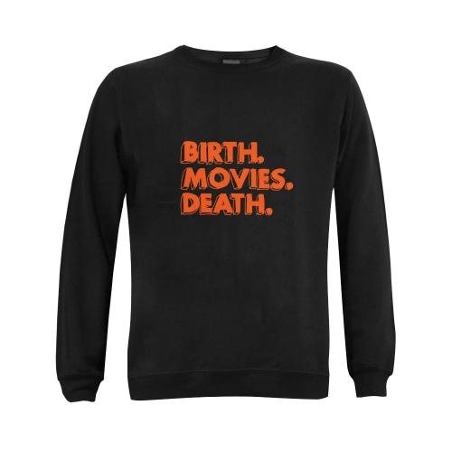 Men's Classic Fuzzy Sweatshirt (New) (Model H01)