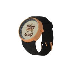 Men's Rose Gold  Resin Strap Watch(Model308)