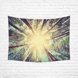 "Cotton Linen Wall Tapestry 80""x 60"""