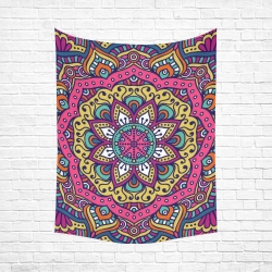 "Cotton Linen Wall Tapestry 60""x 80"""