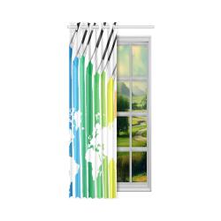 """Window Curtain 50"""" x 108""""(One Piece)"""