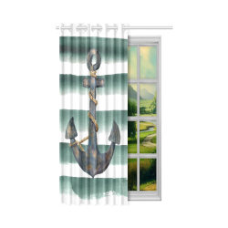 """Window Curtain 50"""" x 84""""(One Piece)"""