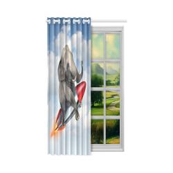 """Window Curtain 52"""" x 63""""(One Piece)"""