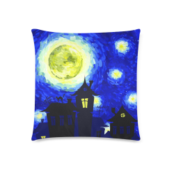 "Throw Pillow Cover 18""x 18""(Twin Sides)"