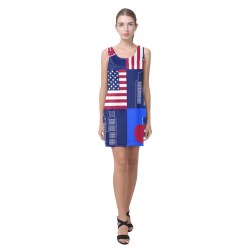 Sleeveless Dress(Model D10)