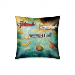 "Throw Pillow Cover 18""x 18"""