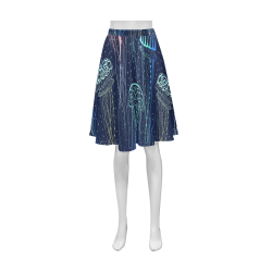 Pleated Midi Skirt (Model D15)