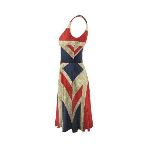 Sleeveless Skater Dress(Model D19)
