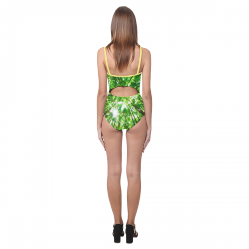 Women's Slip One Piece Swimsuit (Model S05)