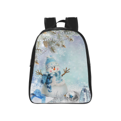 School Bag (Model 1601) (Medium)