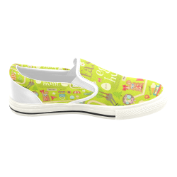 Slip-on Canvas Kid's Shoes(Model019)
