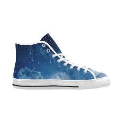 Vancouver High Top Canvas Men's Shoes (Model1013-1)