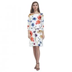 Loose Round Neck Dress(Model D22)