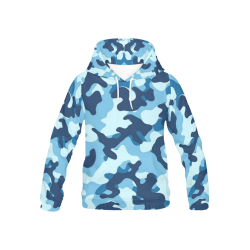 Kid's All Over Print Hoodie (USA Size) (Model H13)