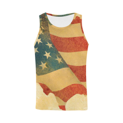 Men's All Over Print Tank Top (Model T43)