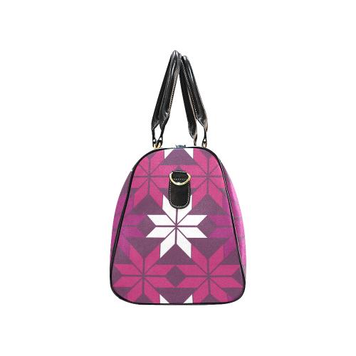 Print On Demand Travel Bag Black Brand On Demand