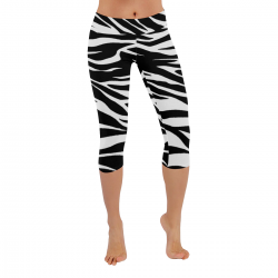 All-Over Low Rise Capri Leggings (Model L08)