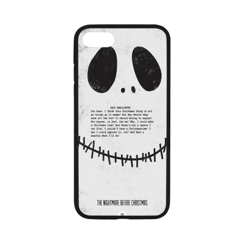 """Rubber Case for iPhone 8 (4.7"""") (with Hard Plastic Back)"""