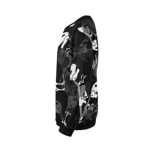 Plus-size Men's All Over Print Sweatshirt (Model H18)