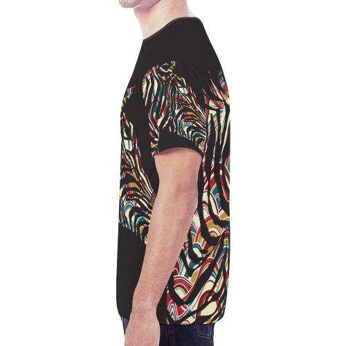 Men's All Over Print Mesh T-shirt (Model T45)