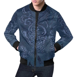 Men's All Over Print Casual Jacket (Model H19)