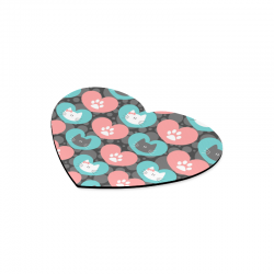 Heart-shaped Mousepad (Made In USA)
