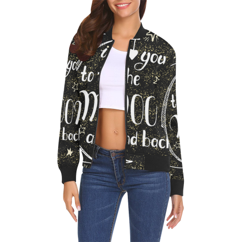 Women's All Over Print Casual Jacket (Model H19)