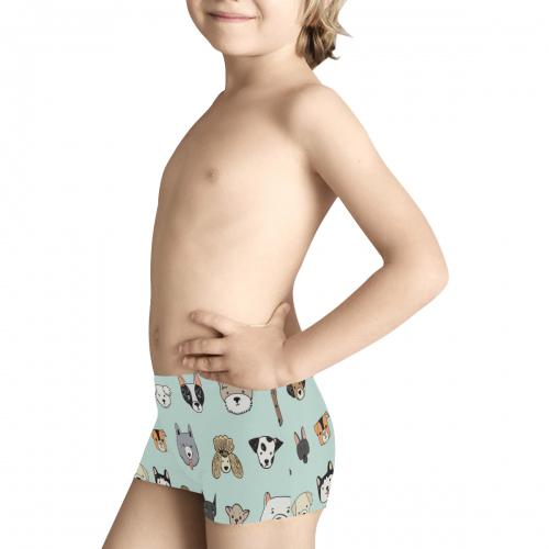 Kids' All Over Print Boxer Briefs ( Model L24)