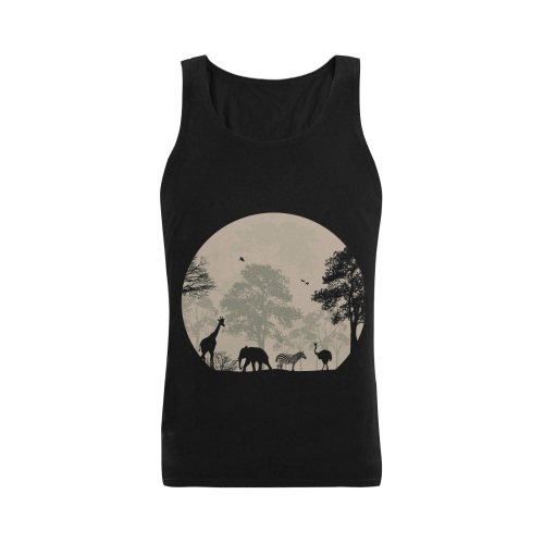 679f554d15 Custom Printing Gildan - Men's Heavy Cotton Tank Top - 5200 (Made In ...
