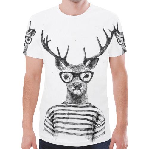 Men's All Over Print T-shirt (Model T45) (Large Size)