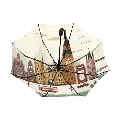 Anti-UV Automatic Umbrella (Underside Printing) (Model U06)