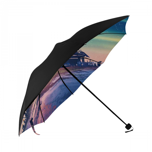 Anti-UV Foldable Umbrella (Underside Printing) (Model U07)