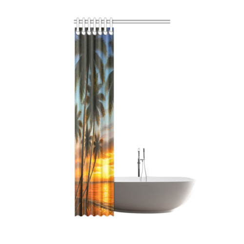 print on demand shower curtain 36 x72 brand on demand interestprint. Black Bedroom Furniture Sets. Home Design Ideas