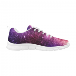 Women's Breathable Sneakers (Large Size) (Model 055) (Two Shoes With Different Printing)