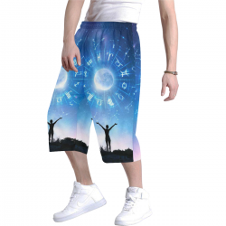 Men's All Over Print Baggy Shorts (Model L37)