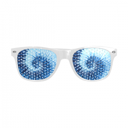 Unisex Perforated Lenses Sunglasses