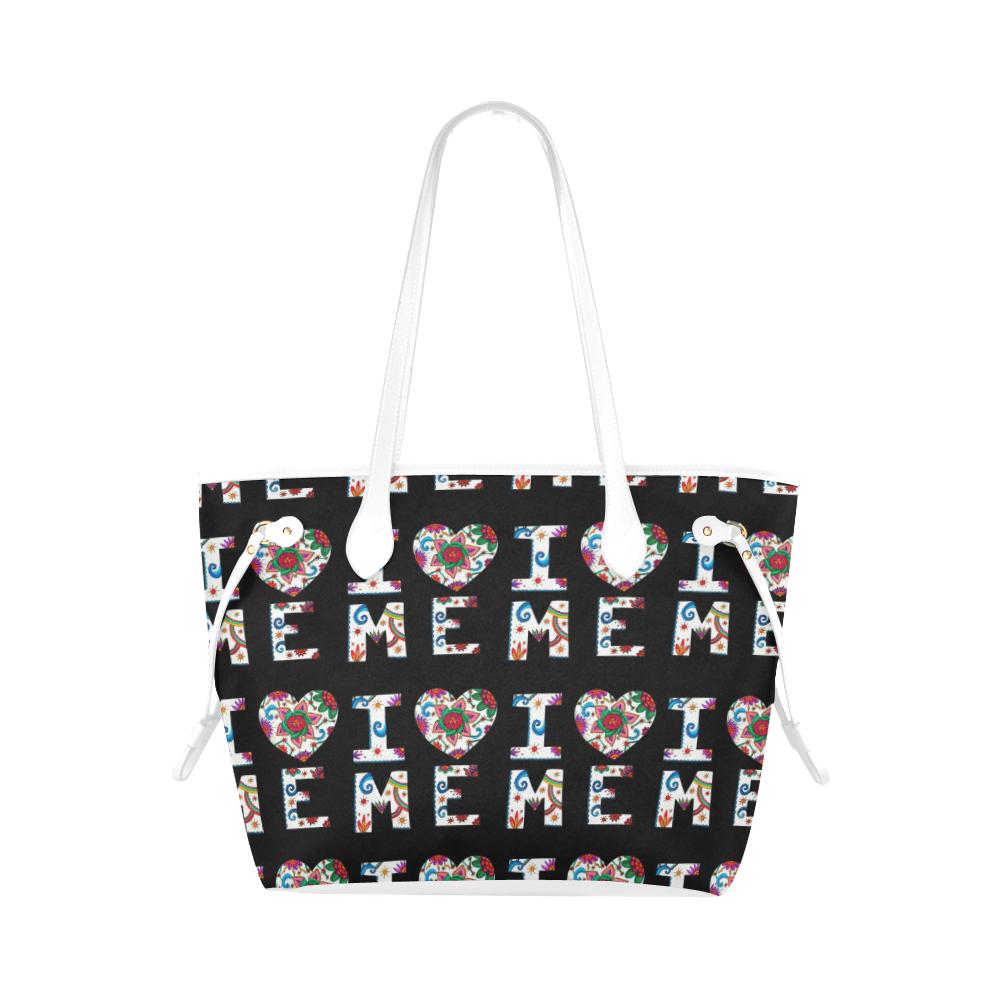 I Love Me Classic tote bag black and white