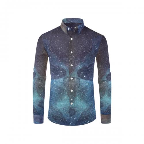 Men's All Over Print Long Sleeve Shirt(Model T61)