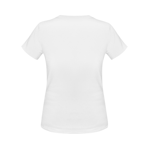 Women's Gildan T-shirt(USA Size)(Model T01)(One Side Printing)