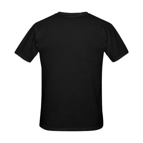 Custom Men's Gildan T-shirt(USA Size)(Large Size)(ModelT02)