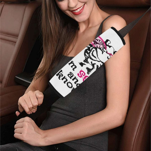 """Car Seat Belt Cover 7"""" x 12.6"""""""