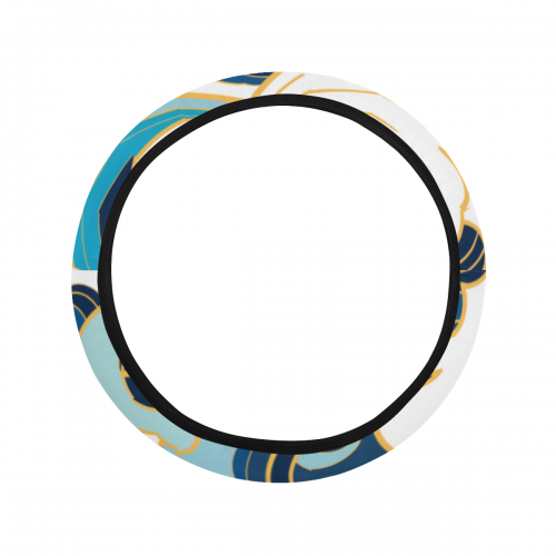Steering Wheel Cover with Elastic Edge