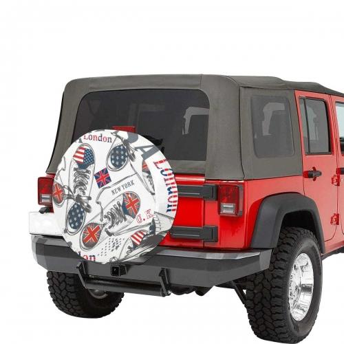 """Spare Tire Cover(Medium)(16"""")"""