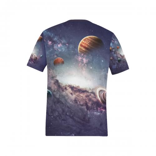 Men's All Over Print T-shirt(Model T63)